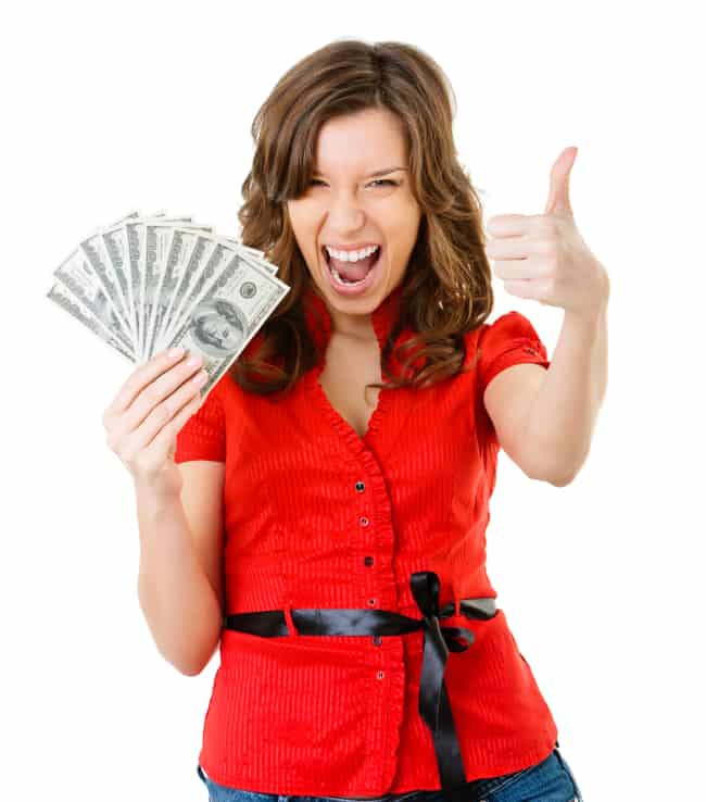 cash for junk cars woman